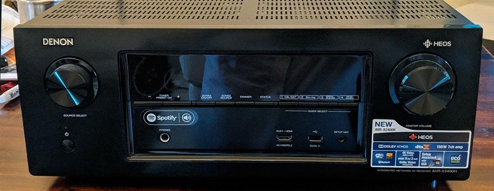7 channel av receiver